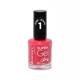 Laca de uñas Super Gel by Kate nº 024 Red Ginger Rimmel 1 ud.