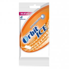Chicles sabor naranja Orbit 4 paquetes de 10 ud.