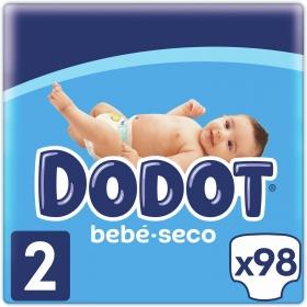 Pañales Dodot T2 (4kg-8kg.) 112 ud.