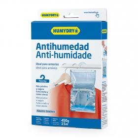 Antihumedad percha ideal armarios Humydry 1 ud.