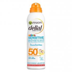 Bruma para niños Anti Arena FP 50+ aerosol Delial 200 ml.