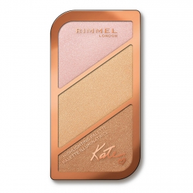 Paleta Kate face sculpting nº 001 golden sands Rimmel 1 ud.