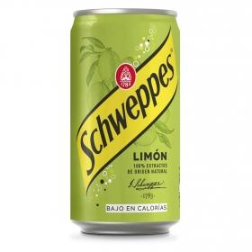 Refresco de limón Schweppes con gas lata 25 cl.
