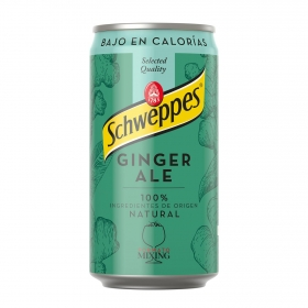 Ginger Schweppes lata 25 cl.