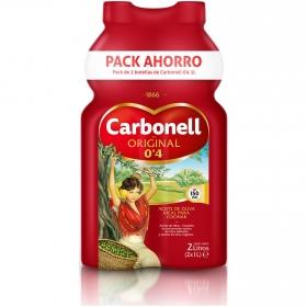 Aceite de oliva suave 0,4º Carbonell pack de 2 botellas de 1 l.