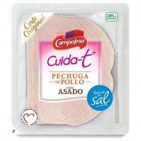 Pechuga de pollo toque asado finas lonchas Campofrío Cuida-t + 100 g.