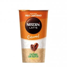 Café latte de caramelo Nescafé Shakissimo 190 ml.