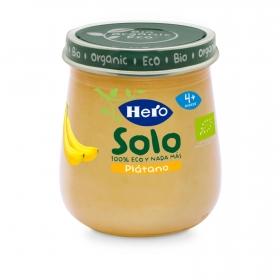 Tarritos Hero Baby Plátano Ecológico 120gr