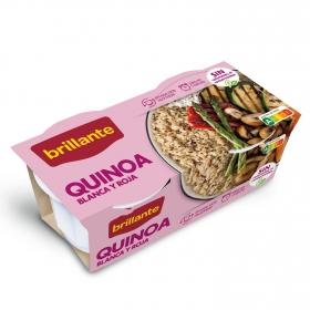 Quinoa blanca y roja Brillante pack de 2 unidades de 125 g.