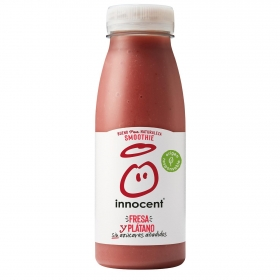 Smoothie de fresa y plátano innocent botella  25 cl.