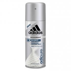 Desodorante en spray para hombre Adipure antitranspirante Adidas 200 ml.