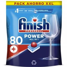 Lavavajillas máquina Todo en 1 en pastillas Calgonit Finish 85 ud.