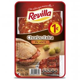 Chorizo extra picante Revilla 70 g.