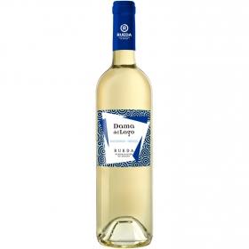 Vino D.O. Rueda blanco verdejo-sauvignon Dama del Lago 75 cl.