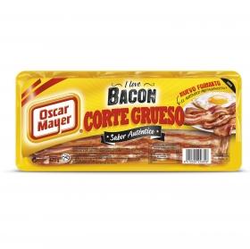 Bacon corte grueso Oscar Mayer sin gluten 175 g.