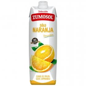 Zumo de naranja Zumosol sin pulpa brik 1 l.