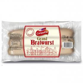 Salchichas Grand bratwurst Campofrío 400 g.