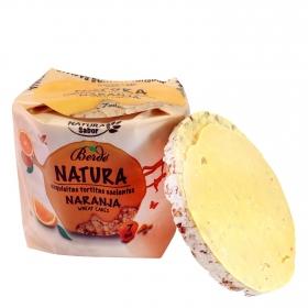 Tortitas de arroz con naranja Berdé Natura 105 g.