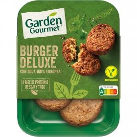 Burguer vegetal deluxe Garden Gourmet 180 g.