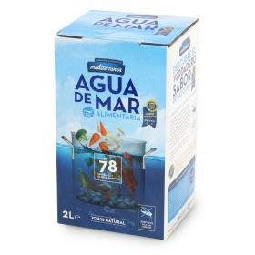 Agua de mar 2 litros