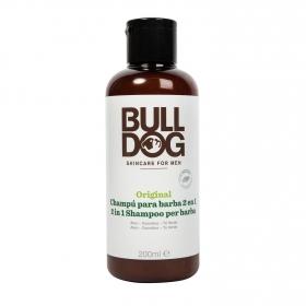 Champú y acondicionador para barba original Bulldog 200 ml.