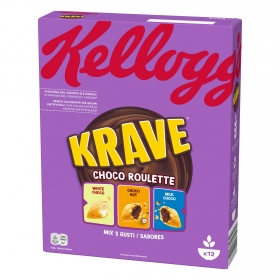Cereales con chocolate Krave Kellogg's 375 g.