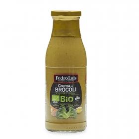Crema de brócoli ecológica Pedro Luis sin gluten 500 ml.