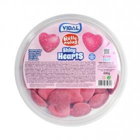 Caramelos de goma Shiny Hearts Vidal sin gluten 400 g.