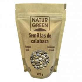 Semillas de calabaza ecológica Naturgreen 225 g.