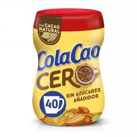 Cacao soluble 0% azúcares añadidos Cola Cao 300 g.