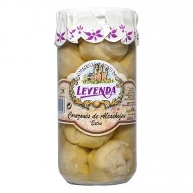 Corazones de alcachofa extra Leyenda 400 g.