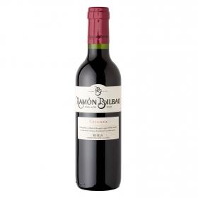 Vino D.O. Rioja tinto crianza Ramón Bilbao 37,5 cl.