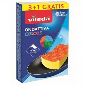 Estropajos VILEDA Colors  - Multicolor