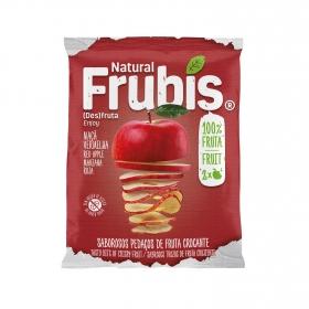 Snack de manzana crujiente sin azúcar añadido Frubis 20 g.