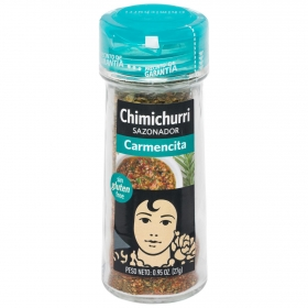 Chimichurri Carmencita sin gluten 27 g.