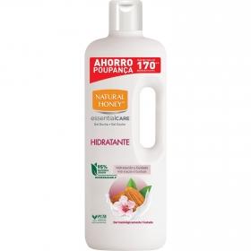 Gel de ducha hidratante con aceite de almendras dulces Natural Honey 1500 ml.
