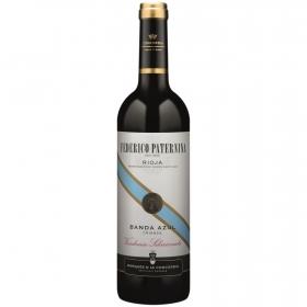 Vino D.O. Rioja tinto crianza Banda Azul Vendimia Seleccionada Federico Paternina 75 cl.