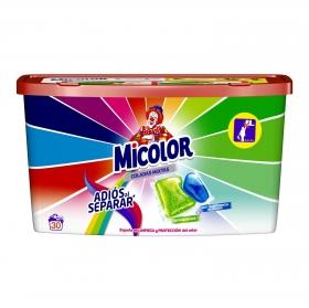 Detergente en cápsulas adiós al separar Micolor 30 ud.
