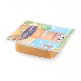 Queso cheddar naranja ya cortado Millán Vicente 250 g