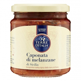 Caponata di melanzane Terre d'Italia 290 g.