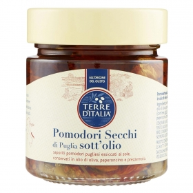 Pomodori secchi di Puglia Terre d'Italia 235 g.
