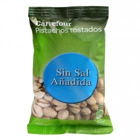 Pistachos tostados sin sal añadida Carrefour 150 g.