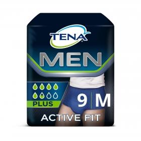 Pants Active Fit plus Mn talla M Tena 9 ud.