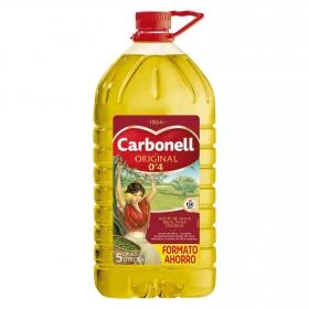 Aceite de oliva Carbonell  suave 0,4º garrafa 5 l.