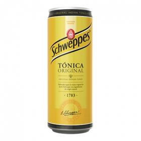 Tónica Schweppes lata 33 cl.