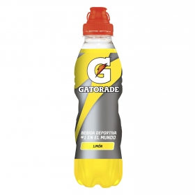Bebida Isotónica Gatorade sabor limón botella 50 cl.