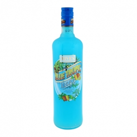Concentrado de frutas Rives Blue Tropic 1 l.