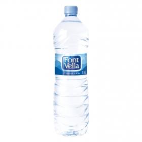 Agua mineral Font Vella natural