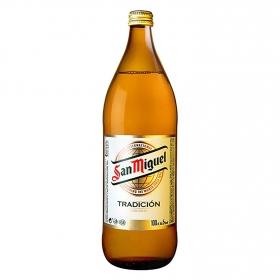 Cerveza San Miguel Tradición botella
