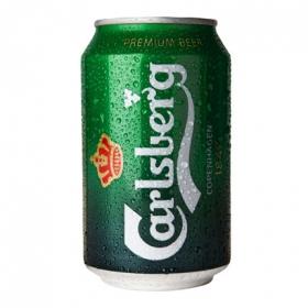 Cerveza Carlsberg lata 33 cl.
